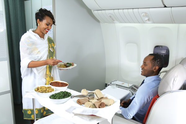 ethiopian airlines inflight-service