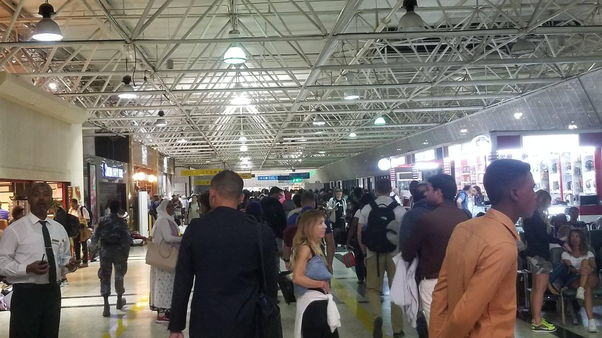 Addis Ababa Airport Sees Record Upsurge in Number of Passengers Addis Ababa, 18 July 2019