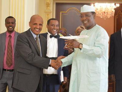 Ethiopian Airlines Partners in Launching of Chad National Carrier