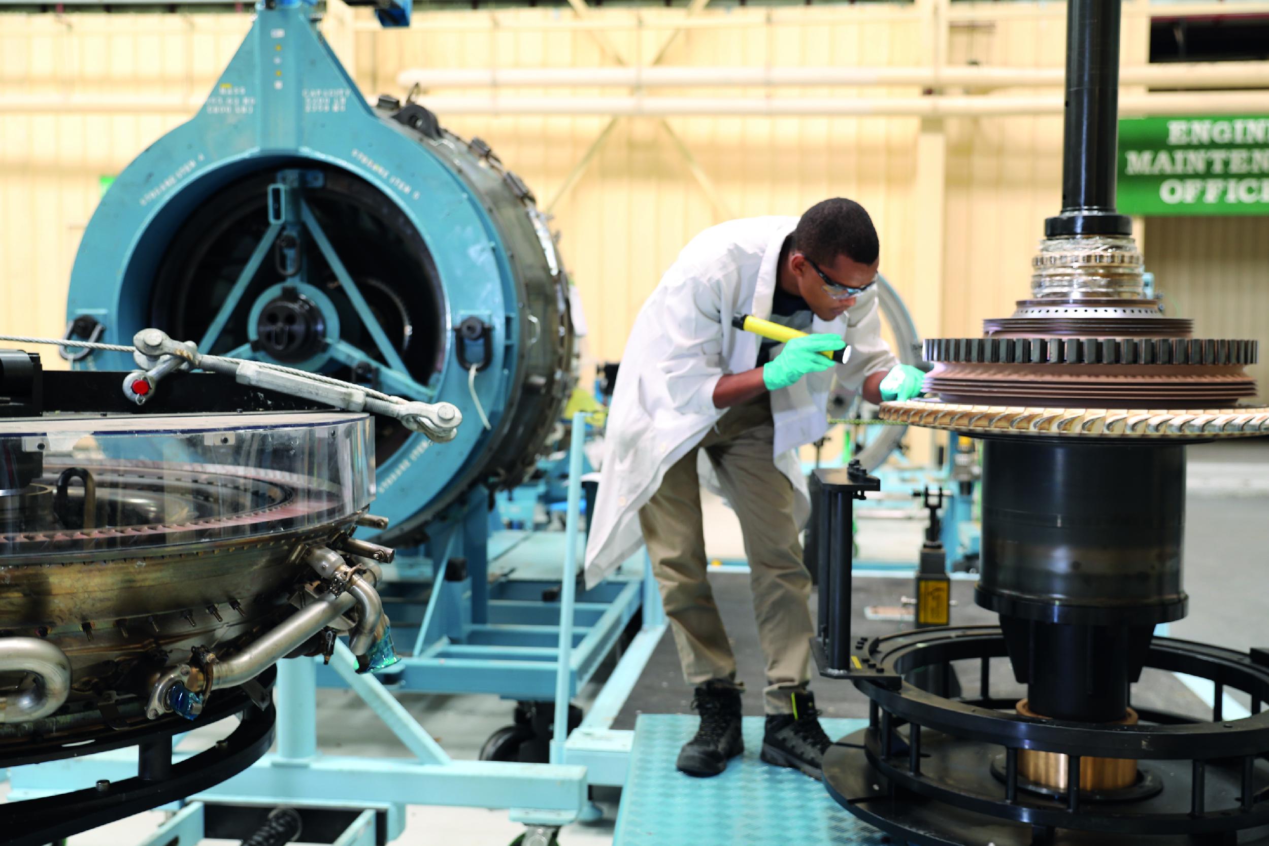 Ethiopian Pioneers 1st GEnx Engine Repair in Africa