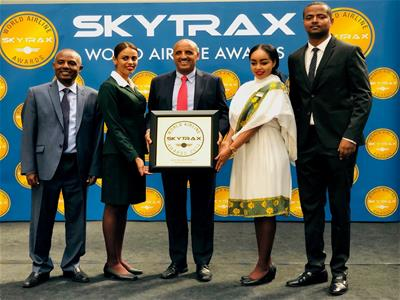 Ethiopian airlines SKYTRAX Awards