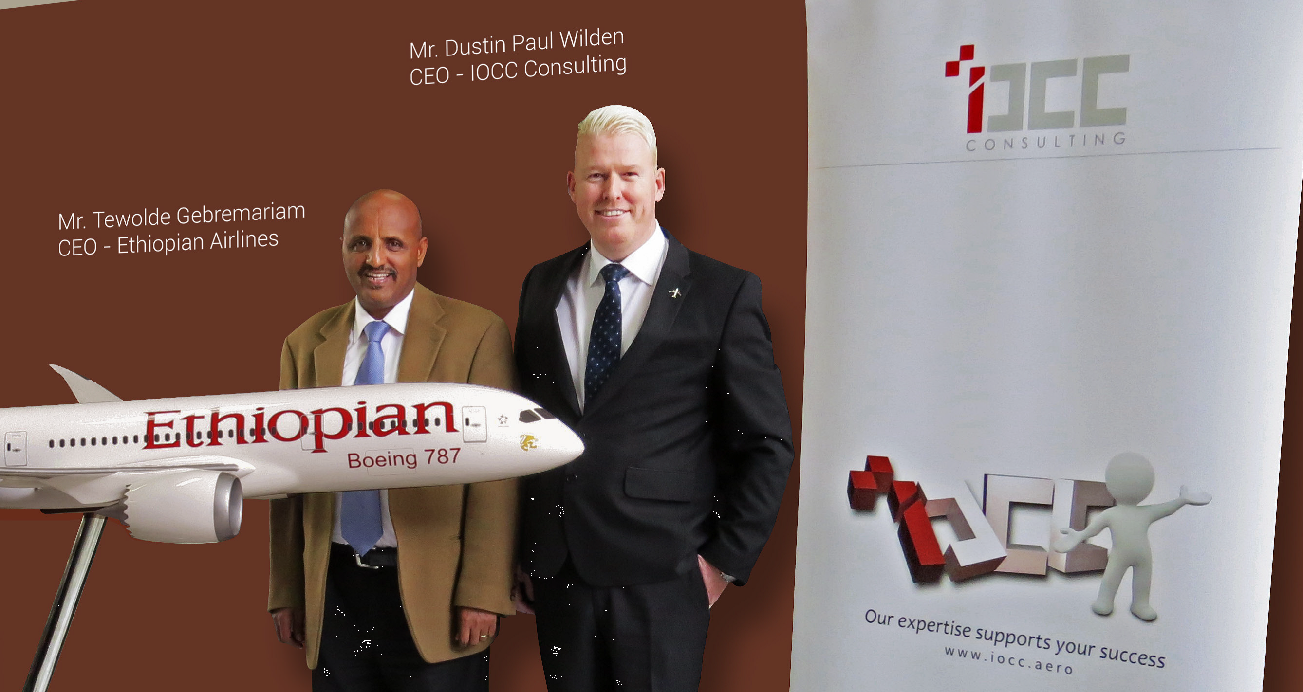 Ethiopian Airlines Partners with IOCC
