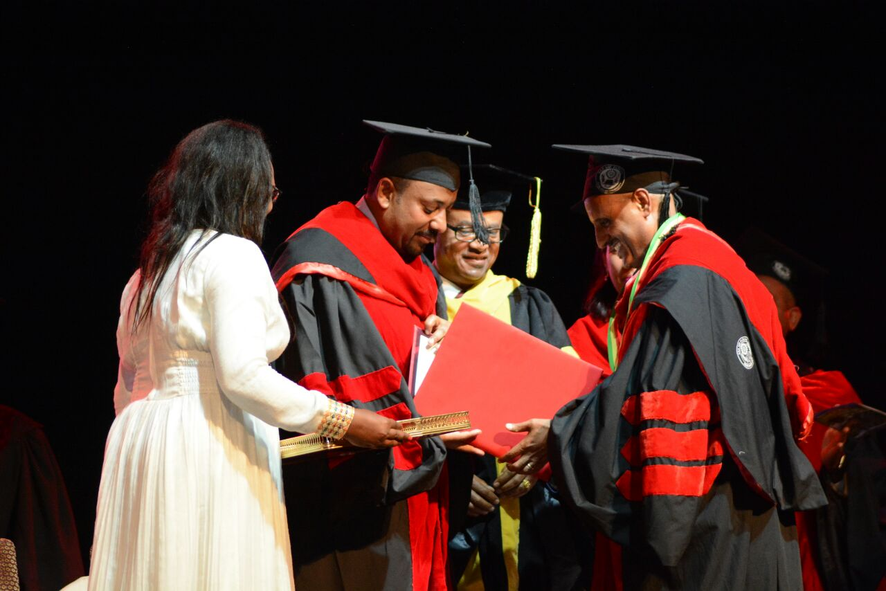 AA-university-Honorary-Doctoral-Degree-Ato-Tewolde