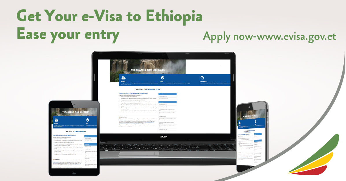 Ethiopian Airlines and the Ethiopian Immigration Services Reawakens Tourism with Online Visa: User Number Hits Record 200,000 Addis Ababa, 16 October 2019