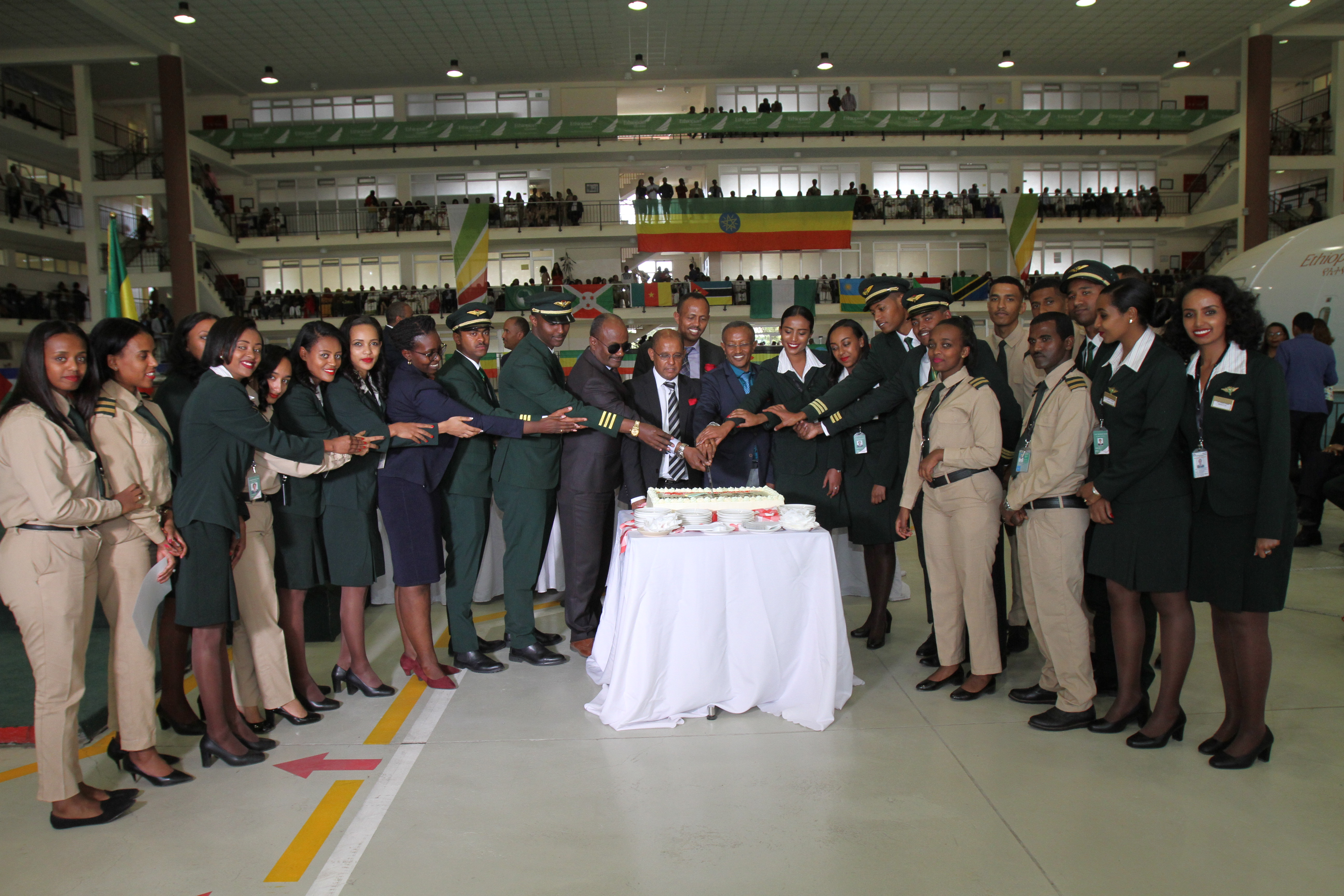 Ethiopian Aviation Academy Graduates 384 Aviation Professionals