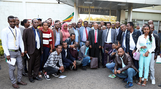 Ethiopian Airlines Group Launches Sustainability Initiative to Support Local Farmers Addis Ababa, 23 October 2019