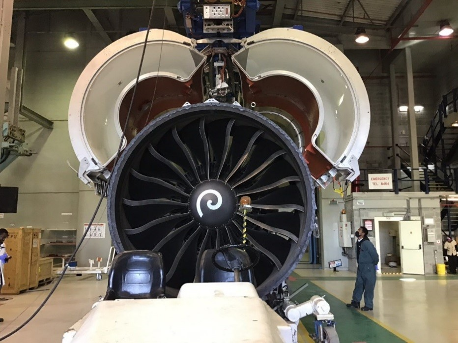 Ethiopian MRO Becomes the First in Africa and the Middle East in GEnx-1B Engine Testing Capability